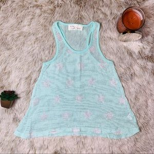 Vintage Havana Light Mint Tank w/ Stars